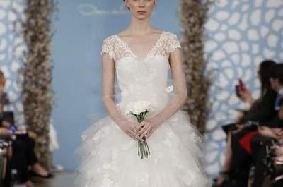 62 vestidos de novia de Oscar de la Renta que te enamorarán