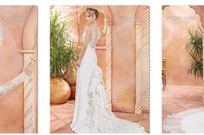 Vestidos de novia Valerio Luna 2017: una colección llena de romanticismo