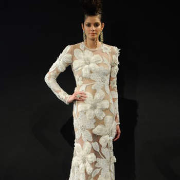 Naeem Khan. Credits_ New York Bridal Week