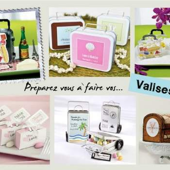 Cadeaux pour les invités - Crédit photo: Décorations de Mariage