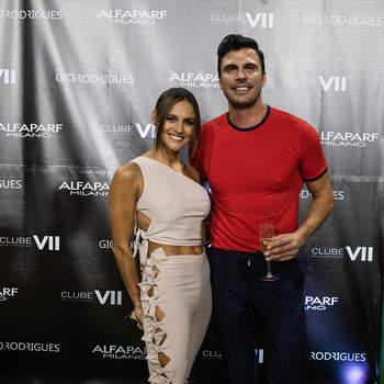 Gio Rodrigues e Joana Alvarenga