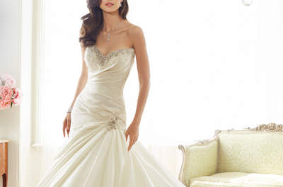 Luxury in the 2015 Bridal Collection by Sophia Tolli