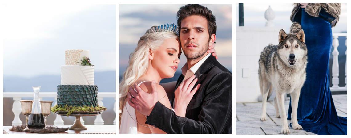 Diese traumhafte Game of Thrones-Hochzeit wird Sie verzaubern!