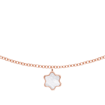Collar en oro rosa/ Créditos: Montblanc y G&G Joyeros