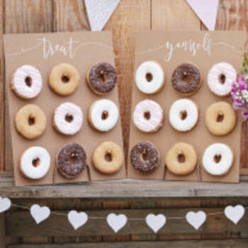 Stand de mariage donuts - The Wedding Shop