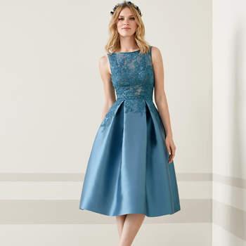 Vestidos de noche blue 7
