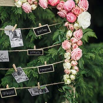 Pizarra con pinza de ropa 2 piezas- Compra en The Wedding Shop