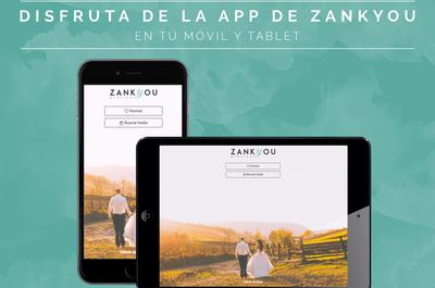 Ya puedes organizar tu boda desde tu celular: descárgate la App de Zankyou