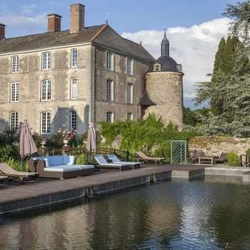 Photo : Château de l'Épinay -   Vous rêvez d'un décor élégant et romantique où célébrer votre mariage ? Il saura vous l'offrir !