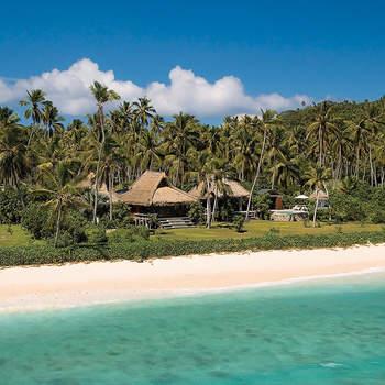 Um resort com uma decoração elegante e vista para a praia, considerado por muitos como o mais exclusivo do mundo. Cada noite nesta villa custa 4 mil euros… mas tem tudo incluído! Foto: North Island
