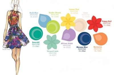 Couleurs top modes pour invitées à un mariage en 2013