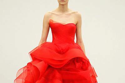 Make Up für rote Brautkleider