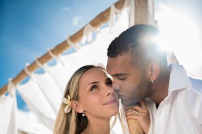 Spełnione marzenia o egzotycznym ślubie we dwoje. Oto ślub Grażyny i Andy na Mauritiusie!  Bajecznie piękny!
