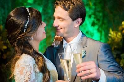 Rhuana & Orido: casamento vintage romântico LINDO no Meio do Mato!