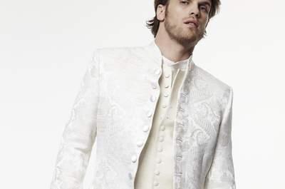Avec Création Morgan, vous n'aurez jamais aussi bien porté le costume que le jour de votre mariage