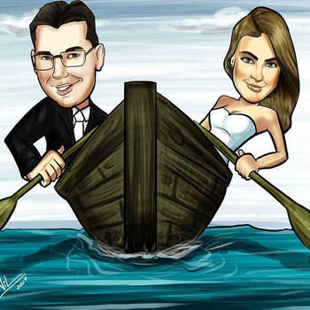 Crédito: Caricaturista Nil Martins