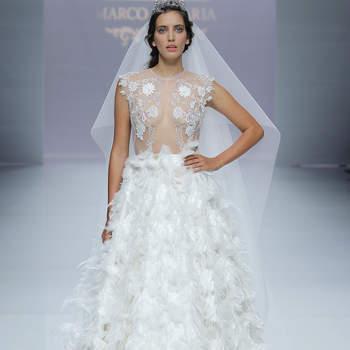 Marco & ;Maria. Credits: Barcelona Bridal Fashion Week