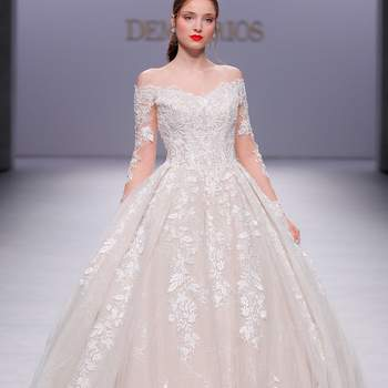 Demetrios. Credits_ Barcelona Bridal Fashion Week