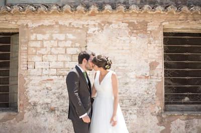 El sonido de un despertador nunca fue más romántico: la boda de Sara y Julio