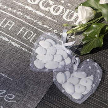 Bolsas Corazón 4 unidades- Compra en The Wedding Shop