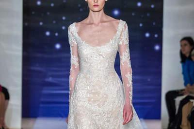 Vestidos de noiva Reem Acra 2016: para noivas que querem se sentir estrelas!