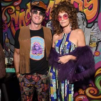 Cindy Crawford e o marido Rande Gerber. Foto IG @cindycrawford