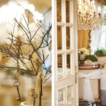Cualquier detalle que imagines para tu boda estuvo presente en esta Touch & feel experience. Foto: Belle Day. http://belleday.com/es/
