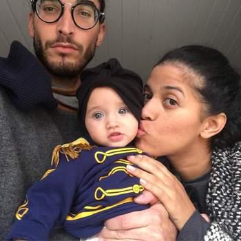 A 15 de julho, Blaya foi mãe de Aura, fruto do seu relacionamento com Pedro. A bailarina dos Buraka Som Sistema trata a filha por Lau Linda. Fotografia: Instagram Blaya