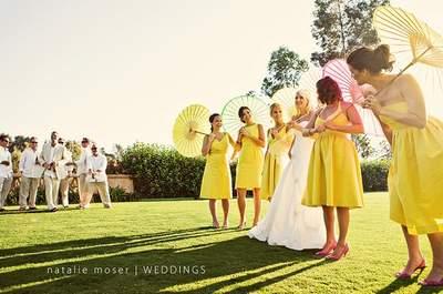 Ombrelles ou parapluies : un détail charmant pour votre décoration de mariage