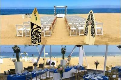 Los 10 mejores lugares en la playa para tu matrimonio en Viña del Mar. ¡Sol y frescura para disfrutar!