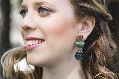 Look 5: sofisticación para una boda de noche con el azul como protagonista