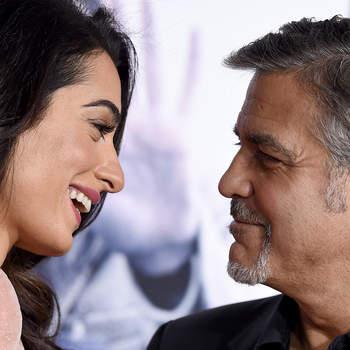 Aos 56 anos, George Clooney foi pai pela primeira vez. O ator e a mulher, Amal, foram pais dos gémeos Ella e Alexander, nascidos a 6 de junho. Foto DR