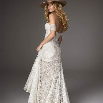 Si quieres ser una novia 'country', este es el vestido que estás buscando.