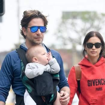 A ex de Cristiano Ronaldo deu à luz uma menina, fruto da sua relação com o ator Bradley Cooper. Irina Shayk foi mãe de Lea de Seine, a 21 de março. Foto DR