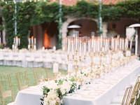 Декор свадебного стола 2017