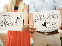 "Engagement Etiquette: How to announce you said ""Yes!"""