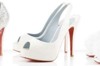 Alcuni modelli delle scarpe da sposa di Christian Louboutin