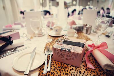 Cómo usar el estampado de leopardo para decorar una boda