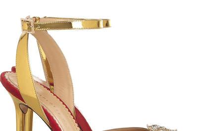 Los 60 zapatos para novias más hermosos de la historia: Tacones, pedrería, moños, colores, ¡y más!