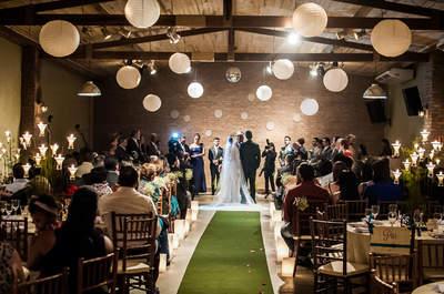 Villa da Mooca: seu casamento rústico-chic em um espaço moderno e lindo em São Paulo!