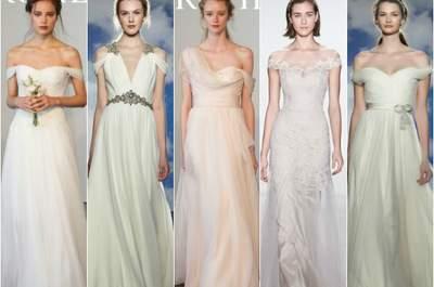Suknie ślubne 2015 - najważniejsze trendy prosto z wybiegów