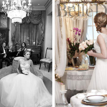 Los novios pudieron ver de primera mano uno de los espacios exclusivos de Belle Day y contaron con la presencia de una modelo vestida de novia. Foto: Belle Day. http://belleday.com/es/