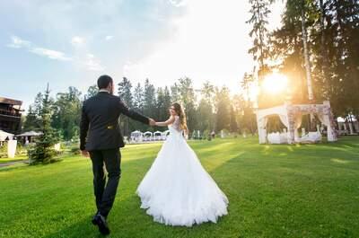 Волшебная свадьба Яны и Василия в Бутик-отеле Мона!
