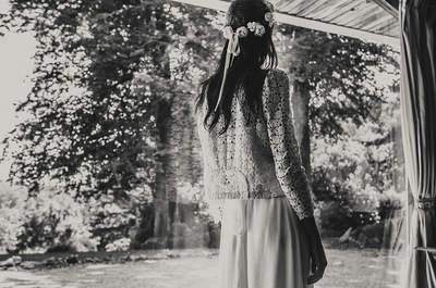 Laure de Sagazan 2015: vestidos de novia con acento francés
