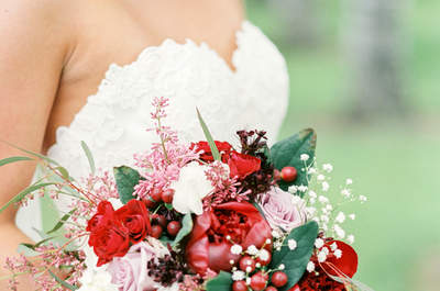 Les plus beaux bouquets de mariée pour l'automne 2015 : trouvez le vôtre !