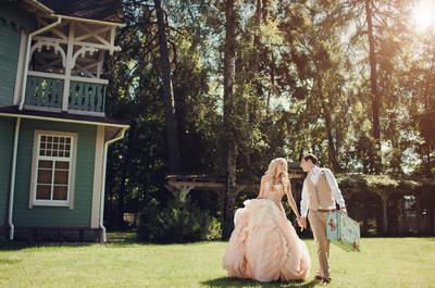 Нежная свадьба Ольги и Сергея в стиле в шебби шик