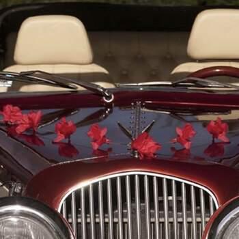 Guirlande Roses Rouges 3 Pièces - The Wedding Shop !