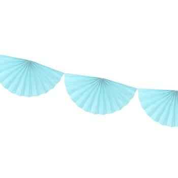 Lunas Decorativas de Papel Azul Claro- Compra en The Wedding Shop