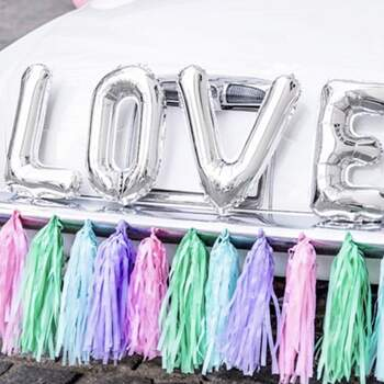 Kit Voiture Complet Pastel - The Wedding Shop !