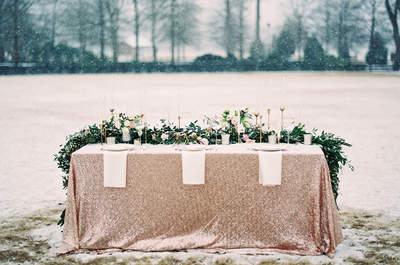 40 motivos por los que celebrar tu boda en Navidad merece la pena